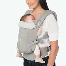 Ergobaby Adapt Baby Carrier, Multi-Position, Premium Cotton, Pearl Grey