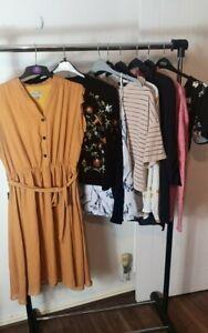 Womens Ladies Clothes Bundle Size 16 Sweater Blouse Mini Dress Shirt Top W6