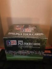 1991 Pro Set PGA Tour Cards Golf Foil Box 36 Packs per Box Factory Sealed