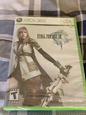 Final Fantasy XIII Factory Sealed  (Microsoft Xbox 360, 2010)