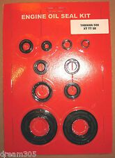 Yamaha 500 XT500 Oil Seal Kit TT500 SR500 Engine 1976 1977 1978 1979 1980-1983