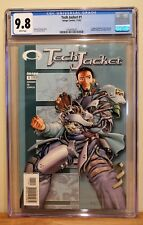 TECH JACKET #1 CGC 9.8 - WHITE *1ST APP OF INVINCIBLE IN PREVIEW* HIGHEST GRADED