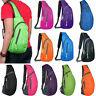 Men Women Chest Bags Cycle Sling Backpack Sports School Crossbody Shoulder Bag