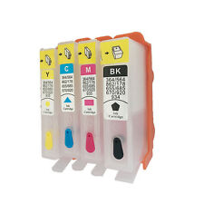 Empty Ink For HP 564 XL Refill Kit with ARC Chip Photosmart 5510 5522 5525 6510