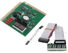 4 Digit PC ISA PCI Analyzer Diagnostic Test Post Card - UK seller