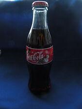 Coca-Cola bottle 8 Oz. Christmas 2000 Santa 3 children looking at him