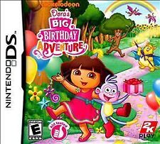 NEW DS, DSI, DS, 2DS Game Works in 3DS Dora's Birthday Adventure MAKE AN OFFER