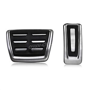 Brake Gas Pedal Cover Cap Kit Accessories For VW Golf7 Passat Tiguan Octavia A3