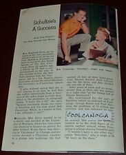 1956 TV ARTICLE~ANN B. DAVIS is SCHULTZIE~HOUSEKEEPER ALICE on THE BRADY BUNCH