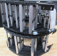 (2) GLEASON PowerTrak CARRIER/FLEX TRACK, MN: PT25G-T1 ~ NEW ~
