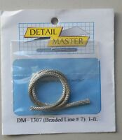 BRAIDED LINE #7 1:24 1:25 DETAIL MASTER CAR MODEL ACCESSORY 1307