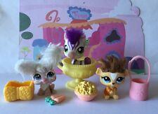 ~♥~Littlest Pet Shop Bulk x 3  ~♥~ #2485#2488#2470 Fuzzy Rabbit Guinea Pig Horse