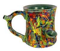 Smokey's Wake and Bake Pipe Mug Kaleidajuana