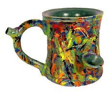 Smokey's Wake and Bake Pipe Mug Kaleidajuana