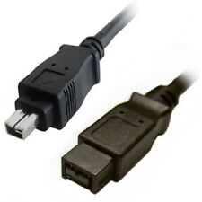 3' IEEE1394 9P Male - 4P Male Firewire 800 cable
