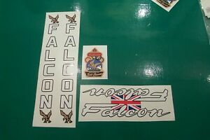 FALCON decal set of five decals