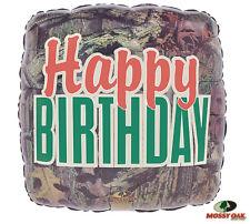 Mossy Oak Camouflage Camo HAPPY BIRTHDAY Hunter Hunting Party Balloon