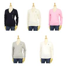 Polo Ralph Lauren Women's Pima Pullover V-neck Sweaters -- 5 colors