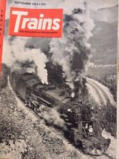 Trains Magazine Canadian Locomotive September 1955 121017nonrh