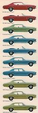 1969 Chevy CHEVELLE Brochure/Catalog: SS-396,MALIBU,300,Super Sport,SS396...NOS!