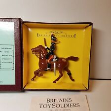BRITAINS 8820 11th PRINCE ALBERT HUSSARS MOUNTED HORSE METAL TOY SOLDIER NIB