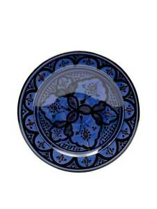 Handmade Moroccan Plates. Excellent Quality, Traditional Patterns, Genuine Item