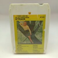 I THINK I LOVE YOU THE HOLLYWOOD BRASS 8 Track Tape 431 Original Unopened