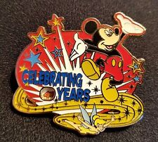RARE 2008 DISNEY WDW YEARS OF CELEBRATION MICKEY & TINKER BELL SPINNER PIN