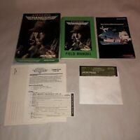 HTF Commodore 64 & 128 Computer Game AIRBORNE RANGER Complete CIB UNTESTED