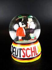 Germany Schneekugel Snowglobe Tanzpaar Tracht,Souvenir Deutschland,Gift Box