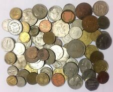 50 Nos OF FOREIGN COIN MIXED LOT IN USED CONDITION, UN-SHORTED 50 COIN