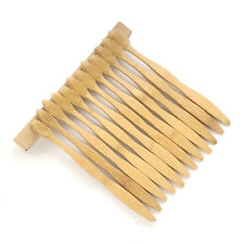 12 Pack Bamboo Toothbrushes Bactericidal Soft Brushes For Adult Oral Care