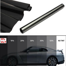 Roll Window Tint Film 5% Limo Tinting Car 2 PLY Glass Home Office DIY 50cm x 6m