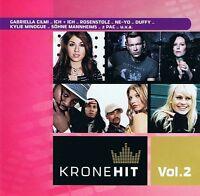 KroneHit Vol.2 - 2 CDs Neu Gabriella Climi Sweet About Me -- Prince Kiss