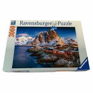 Ravensburger Hamnoy, Lofoten Norway 3000 pc Puzzle - Great Condition - Unchecked