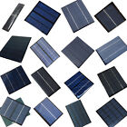 1X 3/5.5/6/9/12/18V Solar Panel Module For Cell Phone Battery Charger Toys Light