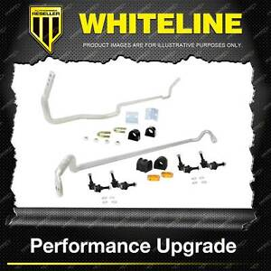 Whiteline Front + Rear Sway Bar - Vehicle Kit for Subaru Forester SG
