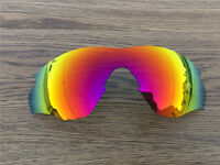 Inew Fire Ruby Red polarized Replacement Lenses for Oakley M2 Frame