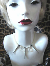Pearl Silver Plated Fashion Chokers