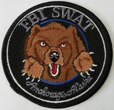 DOJ FBI Federal Bureau of Investigation SWAT Anchorage Alaska Cloth Patch