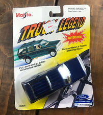 RARE - MAISTO TRUCK LEGEND FORD EXPLORER 1995 VINTAGE 1/32 BLUE 25020