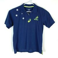 Asics Australia Wallabies Polo Shirt Size Men's Medium