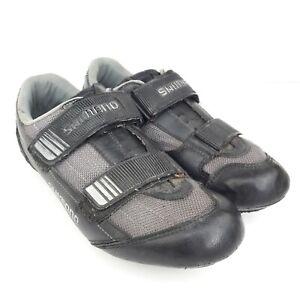 Shimano SH-R074B SPD-SL Black Cycling Shoes Size UK 9.5 US 10.5 EUR 45