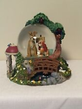 Lady & The Tramp Disney Snowglobe