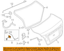 Nissan Oem 07 18 Altima Trunk Lid Handle Inside Holder 846947y000