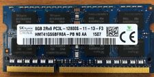HYNIX 8GB PC3L-12800S DDR3 LAPTOP MEMORY RAM LOW VOLTAGE HMT41GS6BFR8A-PB