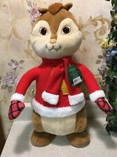"New 19"" Alvin & the Chipmunks Alvin Plush Christmas porch greeter NWT"