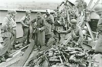 WW II  Usa  Photo --  Turning In Weapons - German Surrender
