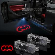 2x Red Batman Logo Door LED Laser Projector Shadow Light For BMW 3/5/6/7 Series