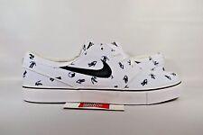 NEW Nike Zoom Stefan Janoski Canvas PRM GEOFF MCFETRIDGE WHITE 705190-101 sz 8.5